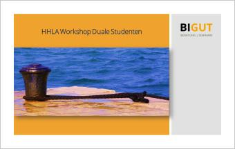 Workshop Duale Studenten