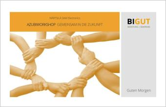 Workshop Gemeinsam in die Zukunft
