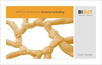 Workshop Teambuilding Azubis